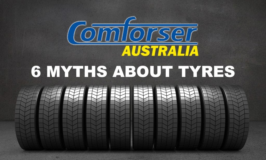 6 Myths About Tyres