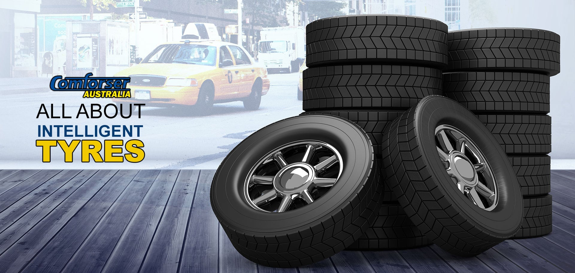 All About Intelligent Tyres