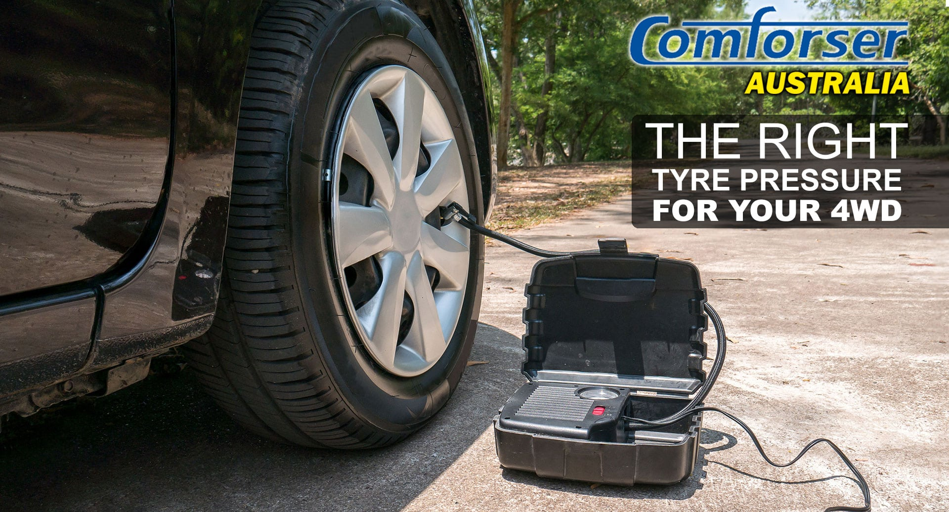 The Right Tyre Pressure For Your 4WD